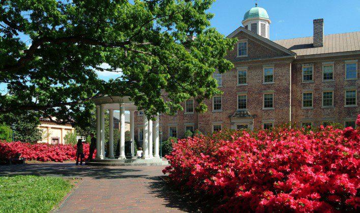 University of North Carolina, Chapel Hil nos Estados Unidos