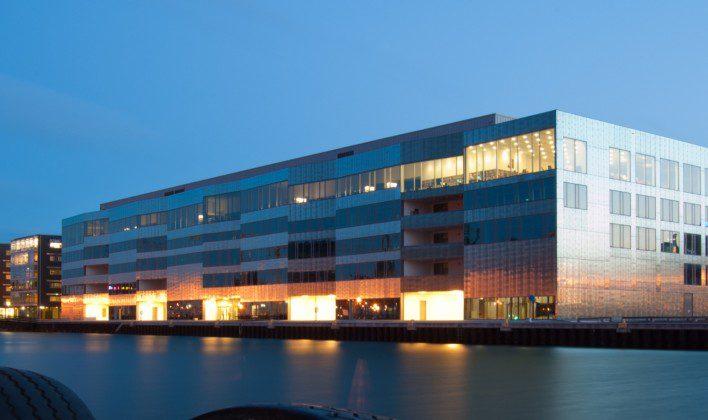 Malmo University na Suécia
