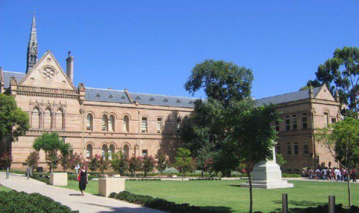 The University of Adelaide na Austrália