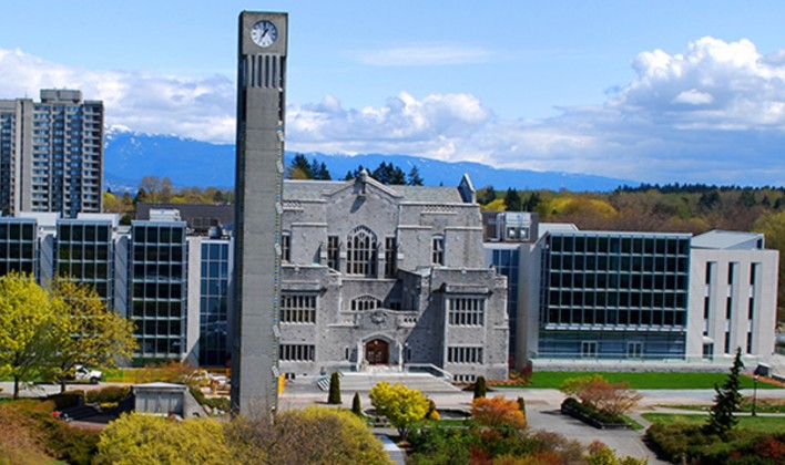University of British Columbia no Canadá