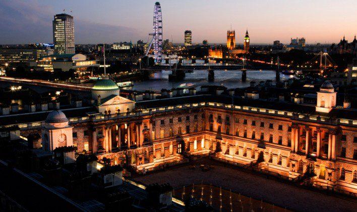 Kings College London na Inglaterra