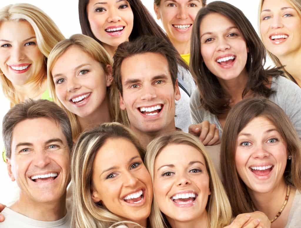 Pessoas felizes