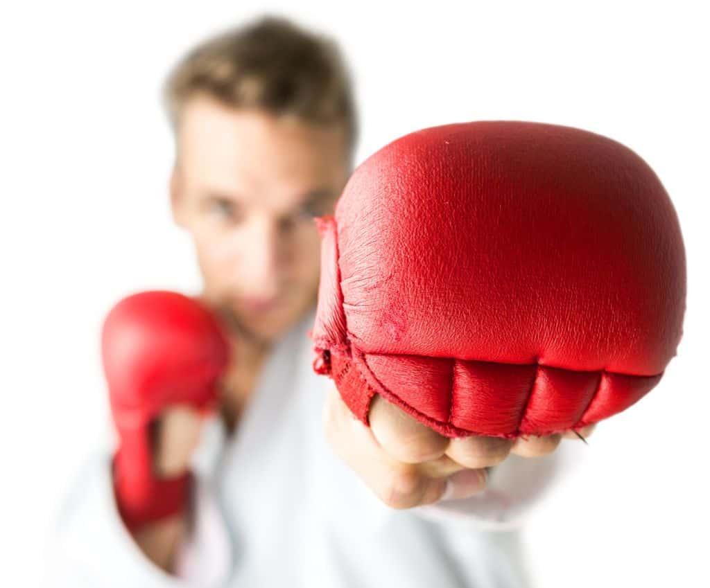 Lutador de boxe